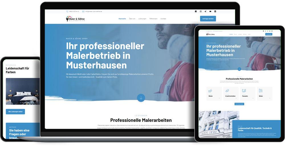 Handwerk-Website: Profi